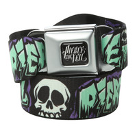 Pierce The Veil Skull Seat Belt Belt