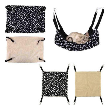 Polk Dot Polyester Rat Rabbit Chinchilla Cat Cage Hammock Small Pet Dog Puppy Bed Cover Bag Blankets Mascotas Cachorro Honden