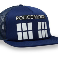 TARDIS Trucker Hat