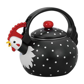 Rooster Whistling Tea Kettle