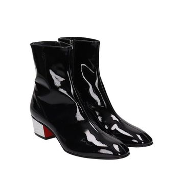 Leather Palace Boots by Christian Louboutin