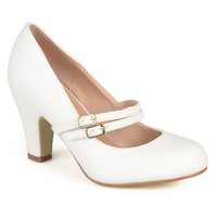 Journee Collection Women's Matte Mary Jane High Heels