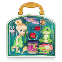 Disney Animators' Collection Tinker Bell Mini Doll Play Set New with Case