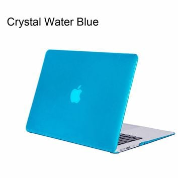 Crystal Cases For New MacBook Pro 13 15 Case 2016 model A1706 A1708 A1707 Retina Clear Crystal Case for MacBook Air 13.3 inch