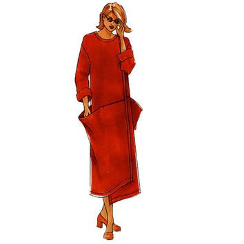 WOMEN'S DRESS PATTERN Yin Yang Dropped Waist Dress Avant Garde Size 8 10 12 14 16 18 20 The Sewing Workshop Collection UNCuT Sewing Patterns