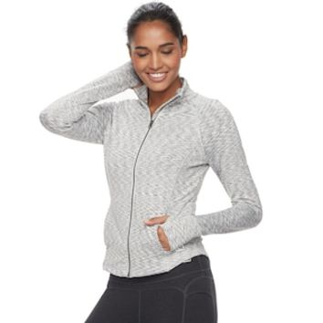 Women's FILA SPORT® Heathered Running Jacket | null