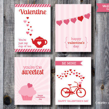 Valentine's Day Cards / Valentines Day Gift Tags