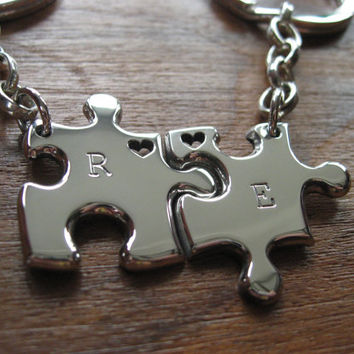 Best Friends Puzzle Keychain Keyrings