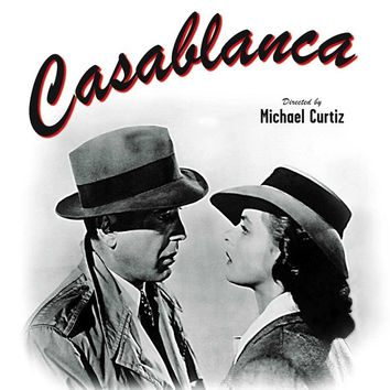 Casablanca 11x17 Movie Poster (1942)