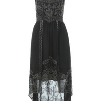 INSPIRED BY Black Bead Dress - Going Out Dresses  - Dress Shop
