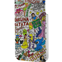 Best 3D Full Wrap Phone Case - Hard (PC) Cover with All Disney Princesses Collage Design