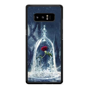 Disney Rose Beauty and the beast Samsung Galaxy Note 8 Case
