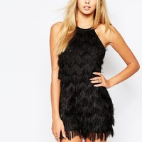 Missguided Tassel Playsuit
