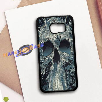 Abstract Skulls Artwork Samsung Galaxy S6 Case Planetscase.com