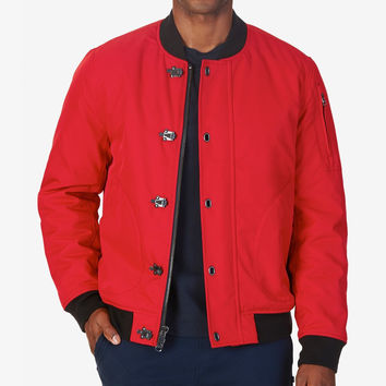 Nautica Mens Lightweight Bomber Jacket