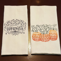Happy Halloween Kitchen Towel Set