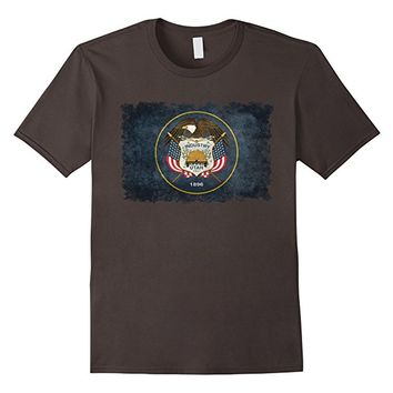 Vintage State Flag Of Utah T-Shirt