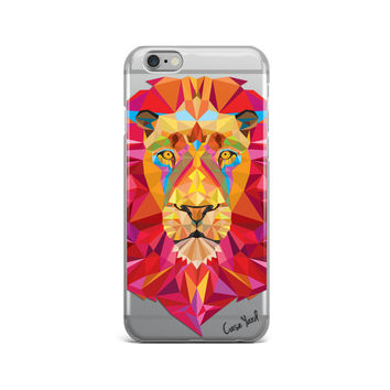 Lion clear iphone 6s case lion clear iphone 6s case clear iphone 6 case lion clear iphone 5 case colored iphone case,clear iphone 6s case