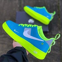 Nike Fashion Women Men Casual Sport Running Shoes Sneakers Blue