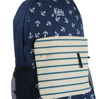 Blue Anchor Backpack