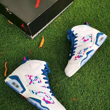 Air Jordan 6 Women Shoes Basketball Shoes