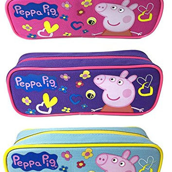 Star Peppa Pig Pencil Case/Pouch Set of 3