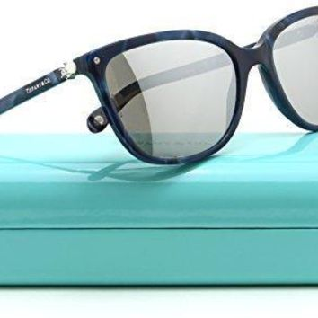 Tiffany & Co. Tf 4105 H B Women Square Mirrored Sunglasses 82006v
