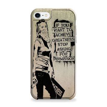 Banksy Art iPhone 6 | iPhone 6S Case