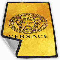 Versace Logo Blanket for Kids Blanket, Fleece Blanket Cute and Awesome Blanket for your bedding, Blanket fleece **