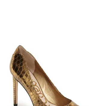 "Women's Sam Edelman 'Dea' Pointy Toe Pump, 4 1/4"" heel"