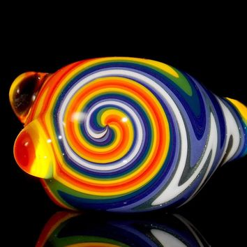 Lysergic Rainbow Wig Wag Pipe