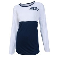 Seattle Seahawks Vortex Ladies Long Sleeve
