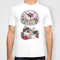 THE MONSTER PAINTED PART II T-shirt by VinceGabriel