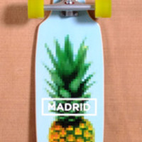"MADRID 36"" PINEAPPLE LONGBOARD COMPLETE"