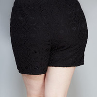 Crochet Lace Shorts | Wet Seal