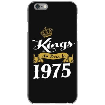kings are born in 1975 iPhone 6/6s Case