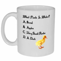 What Floats in Water Coffee or Tea mug - Monty Python and the Holy Grail