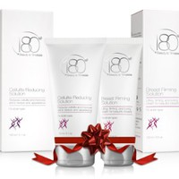 """The Ultimate """"Shapely Silhouette"""" Bundle - 180 Cosmetics Breast Firming Solution + 180 Cosmetics Cellulite Reducing Solution - AMAZING RESULTS AT AN AMAZING PRICE!"""
