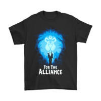 HCXX World Of Warcraft For The Alliance Shirts
