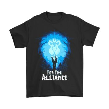 PEAP3CR World Of Warcraft For The Alliance Shirts