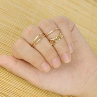 Unique Love Rings Tail Ring AnaeCadeau Gift-210