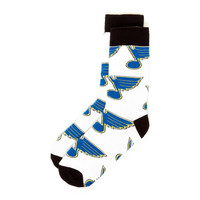 St. Louis Blues NHL Stylish Socks (1 Pair) (S-M)