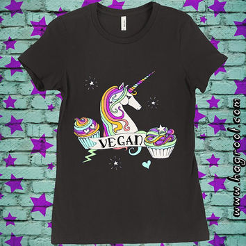 VEGAN UNICORN - Women's T-Shirt