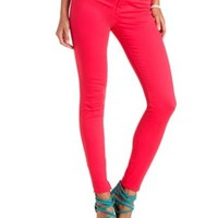 "Refuge ""Skin Tight Legging"" Colored Skinny Jeans - Pink"