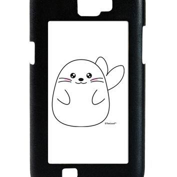 Cute Seal Galaxy Note 2 Case  by TooLoud