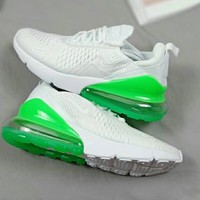 NIKE AIR MAX 270 Flyknit New Popular Men Personality Running Sport Shoe Air Cushion Sneakers I-A36H-MY
