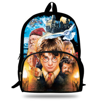 "Backpack 16"" Colorful  (Harry Potter)"