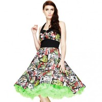 Hell Bunny B-Movie 50's Dress | Rockabilly | Pin Up | Halloween | Zombies