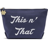 Draper James This 'N That Canvas Pouch | Nordstrom