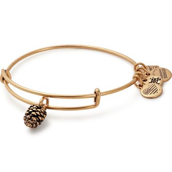 Pinecone Charm Bangle | Plan International